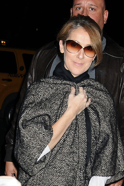 More Pics of Celine Dion Over the Knee Boots 5 of 7 Celine Dion