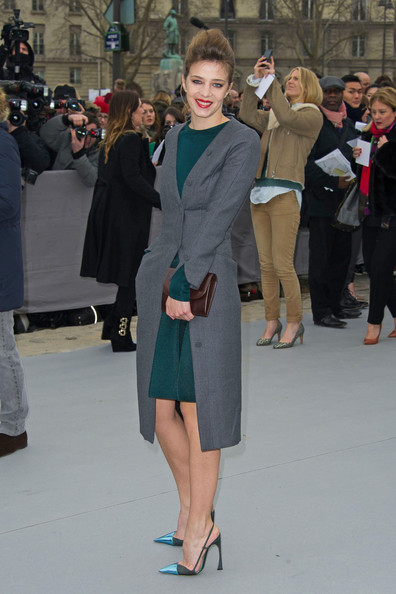Celebs at the Christian Dior Show