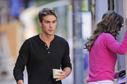 Chace Crawford and Elizabeth Hurley Photo