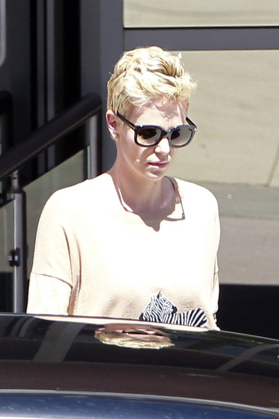 Charlize Theron Runs Errands in LA