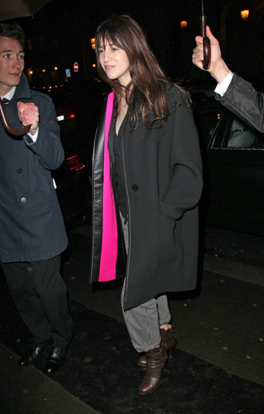 Charlotte Gainsbourg Wool Coat