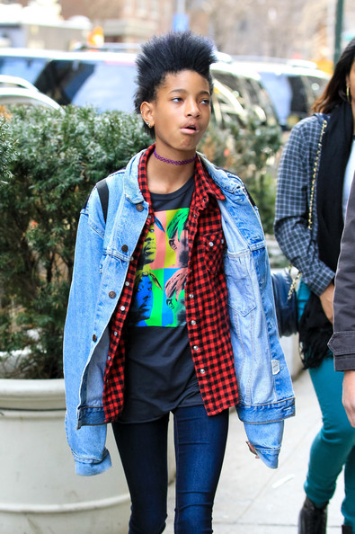 More Pics of Willow Smith Denim Jacket (1 of 4) - Willow Smith Lookbook - StyleBistro
