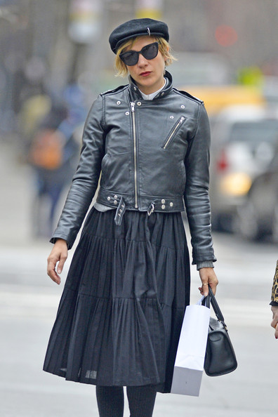 Chloe Sevigny Knee Length Skirt