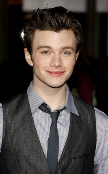 Chris Colfer Hair