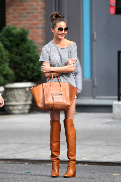 Chrissy Teigen Knee High Boots