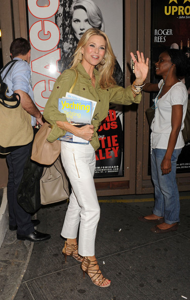 More Pics of Christie Brinkley Button Down Shirt (4 of 8) - Christie Brinkley Lookbook - StyleBistro