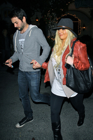 More Pics of Christina Aguilera Knee High Boots (1 of 10) - Christina Aguilera Lookbook - StyleBistro