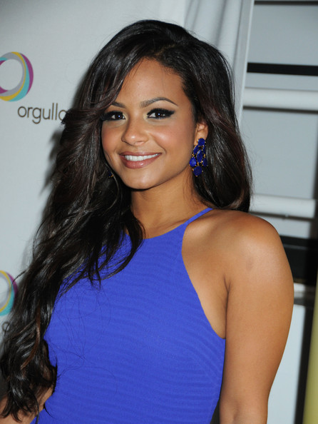 Christina Milian False Eyelashes