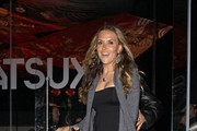 Charlie Sheen's wife Brooke Mueller dines out at celebrity hotspot Katsuya in West Hollywood.
