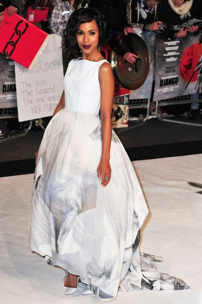More Pics of Kerry Washington Evening Dress (5 of 8) - Evening Dress Lookbook - StyleBistro