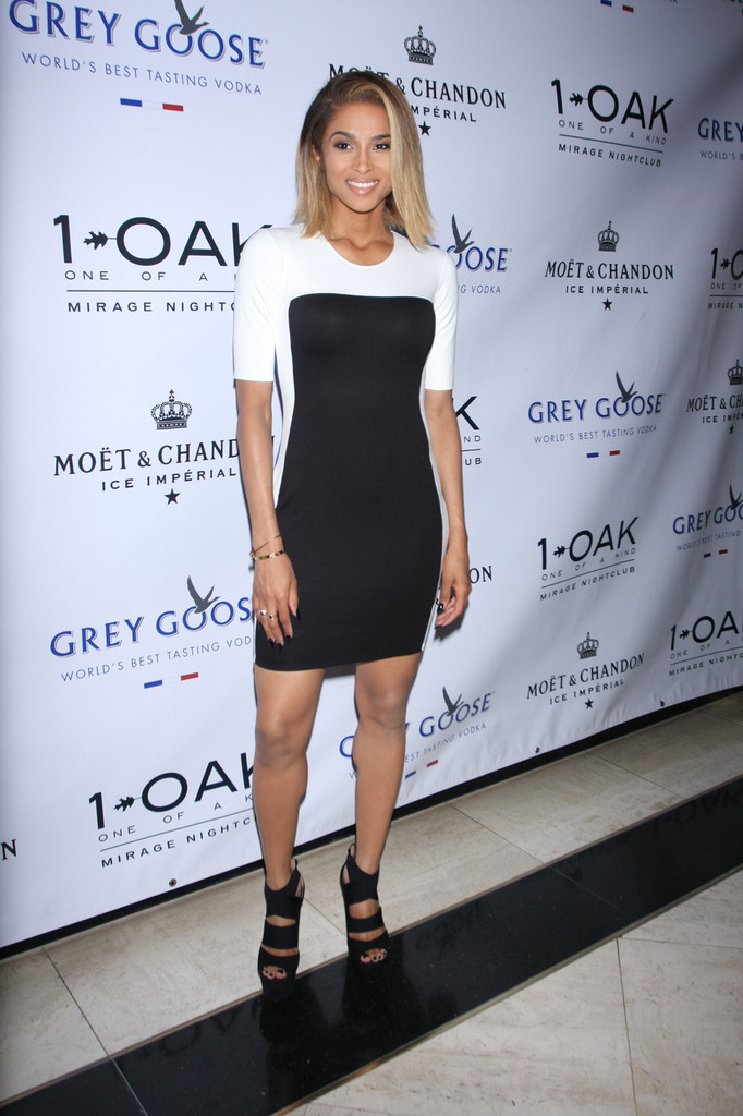 Ciara celebrates her 5th album release with performance at 1Oak Nightclub at Mirage Hotel and Casino in Las Vegas.