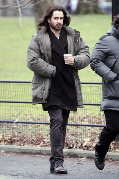Colin Farrell on the Set of 'Winter's Tale'