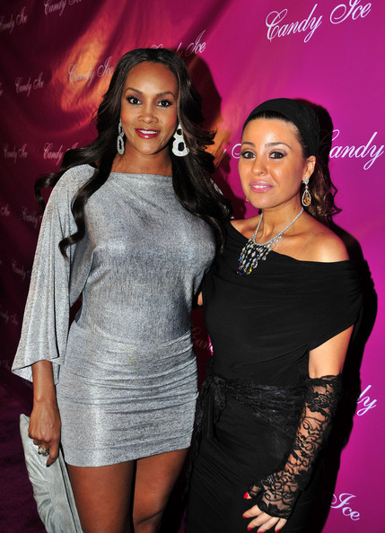 More Pics of Vivica A. Fox Dangling Diamond Earrings (1 of 5) - Vivica A. Fox Lookbook - StyleBistro