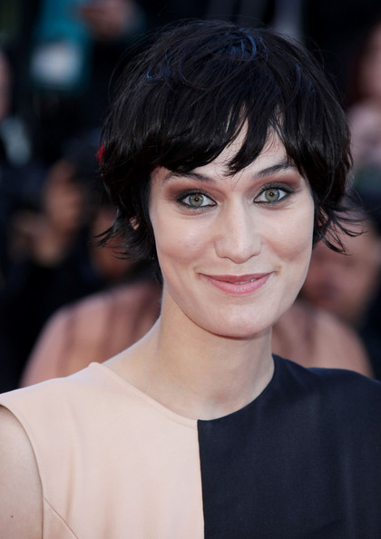 Clotilde Hesme rocked a bowl cut at the Cannes Film Festival premiere of 'This Must Be the Place.'