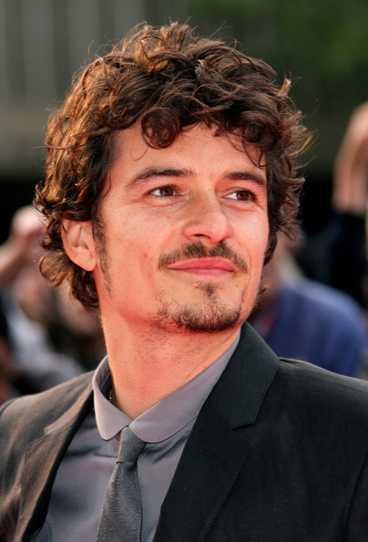 More Pics of Orlando Bloom Short Curls (1 of 2) - Orlando Bloom Lookbook - StyleBistro