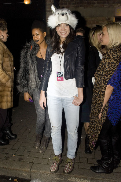 Daisy Lowe Ripped Jeans []