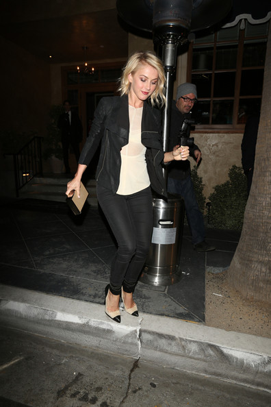More Pics of Julianne Hough Skinny Pants (3 of 14) - Julianne Hough Lookbook - StyleBistro