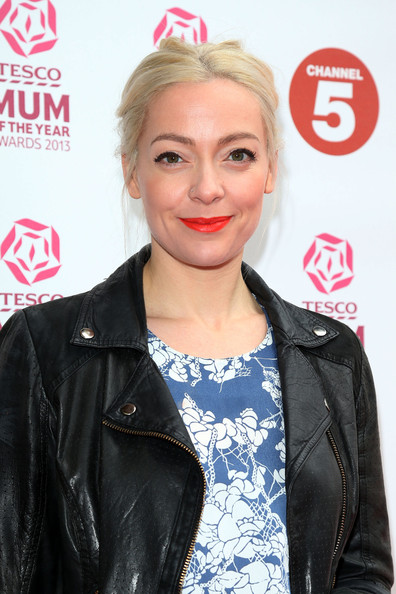 More Pics of Cherry Healey Bright Lipstick (1 of 1) - Bright Lipstick Lookbook - StyleBistro