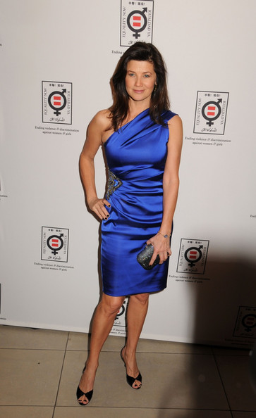 Daphne Zuniga One Shoulder Dress