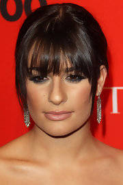 Lea Michele has looked stunning on the red carpet as of late and she didn't disappoint at the Time 100 event. Her classic bun and blunt cut bangs were ultra classy.