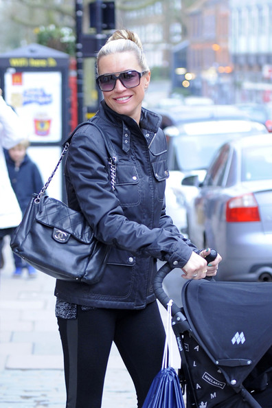 Denise van Outen Utility Jacket