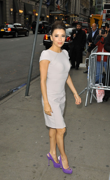 More Pics of Eva Longoria Ponytail (1 of 17) - Eva Longoria Lookbook - StyleBistro