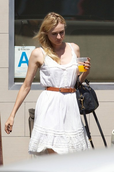 Diane Kruger Day Dress
