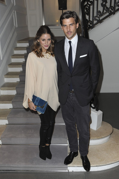 More Pics of Olivia Palermo Velvet Clutch (1 of 3) - Olivia Palermo Lookbook - StyleBistro