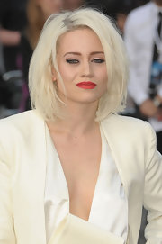 Kimberley Wyatt rocked a messy bob at the 'World War Z' premiere.
