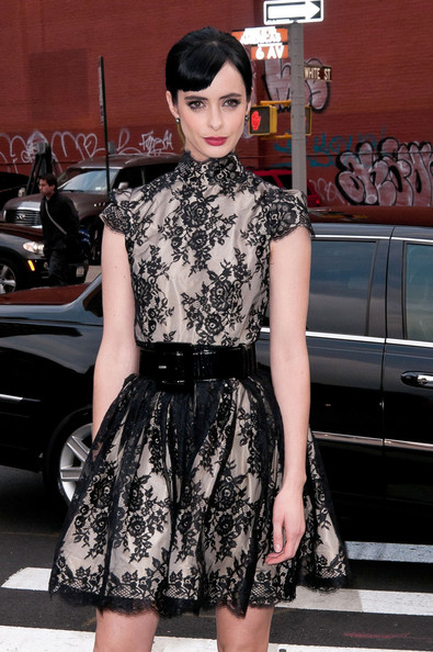 More Pics of Krysten Ritter Pumps (2 of 5) - Krysten Ritter Lookbook - StyleBistro