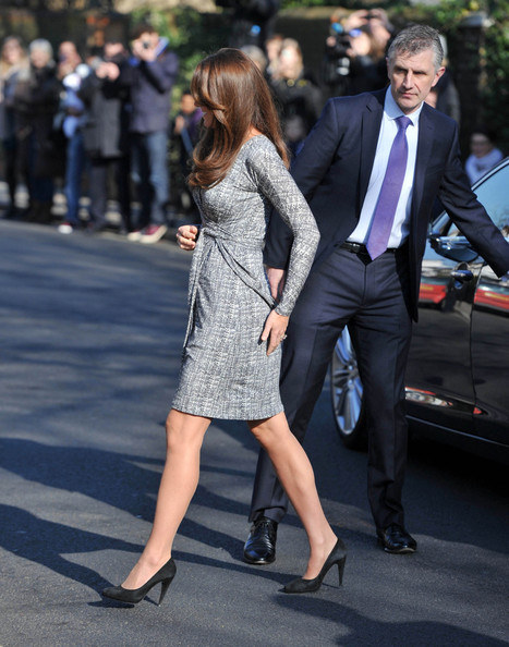 More Pics of Kate Middleton Wrap Dress (2 of 9) - Kate Middleton Lookbook - StyleBistro