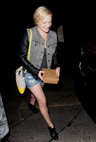 Elisabeth Moss Spotted at the Chateau Marmont — Part 2