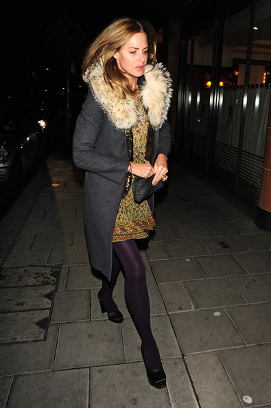 More Pics of Trinny Woodall Wool Coat (1 of 2) - Wool Coat Lookbook - StyleBistro