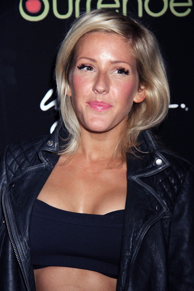 Ellie Goulding Medium Straight Cut