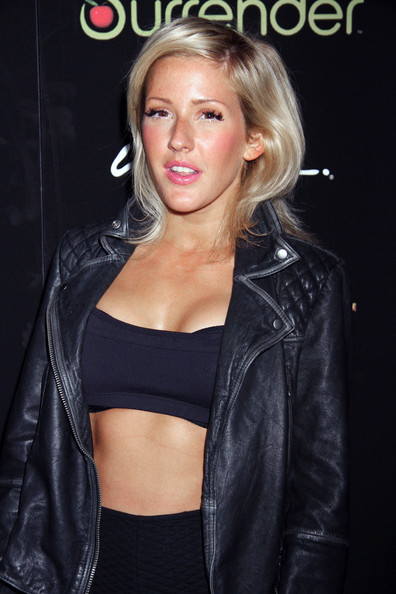 More Pics of Ellie Goulding Leather Jacket (1 of 10) - Leather Jacket Lookbook - StyleBistro