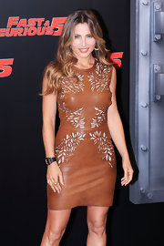 Elsa Pataky styled her long locks in soft layered curls for the 'Fast and Furious 5: Rio Heist.'