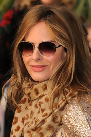 Trinny Woodall looked modern at the 'Gnomeo and Juliet' premiere wearing a pair of round sunnies.