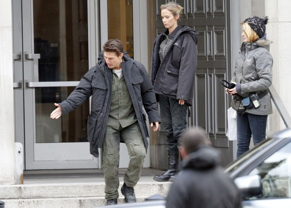 Tom Cruise Films 'All You Need is Kill' 2