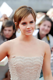 Emma's pixie cut looked fresh at the 'Harry Potter & the Deathly Hallows Part 2' premiere with razored bangs and a soft auburn hue.