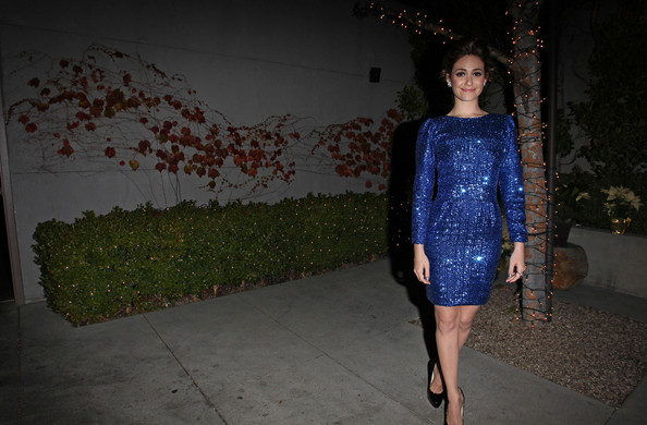 More Pics of Emmy Rossum Diamond Studs (1 of 12) - Emmy Rossum Lookbook - StyleBistro