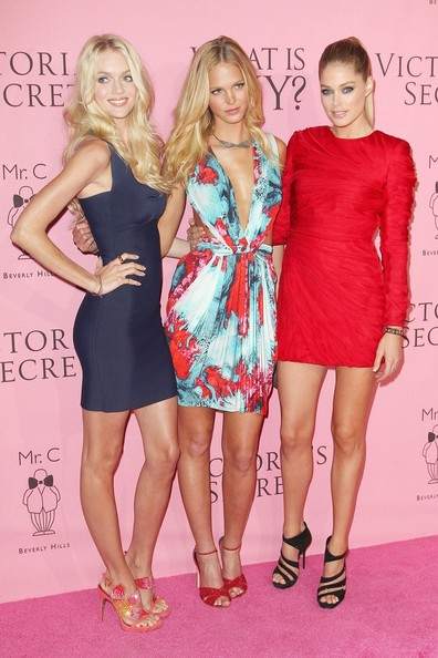 "Stars at the Victoria's Secret ""What is Sexy"" Party in Los Angeles"