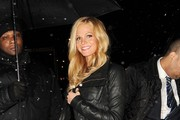 Erin Heatherton Leather Jacket