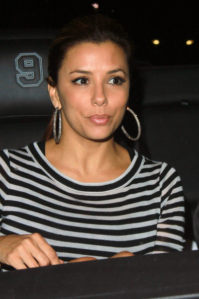 Eva Longoria Sterling Hoops