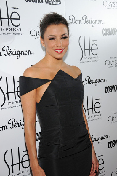 More Pics of Eva Longoria Little Black Dress (1 of 9) - Eva Longoria Lookbook - StyleBistro
