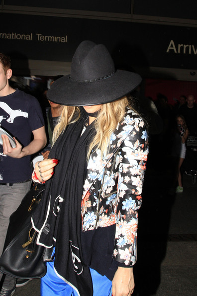 Fergie spotted at LAX Airport in Los Angeles