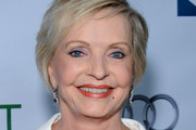 Florence Henderson Short Side Part