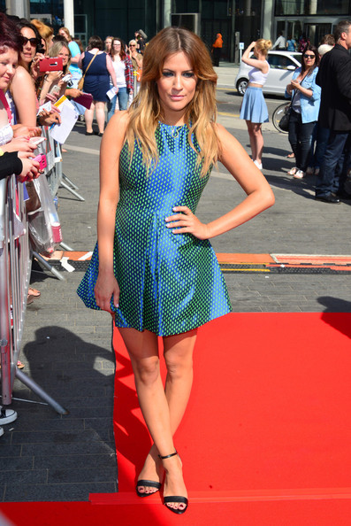 More Pics of Caroline Flack Print Dress (3 of 4) - Caroline Flack Lookbook - StyleBistro