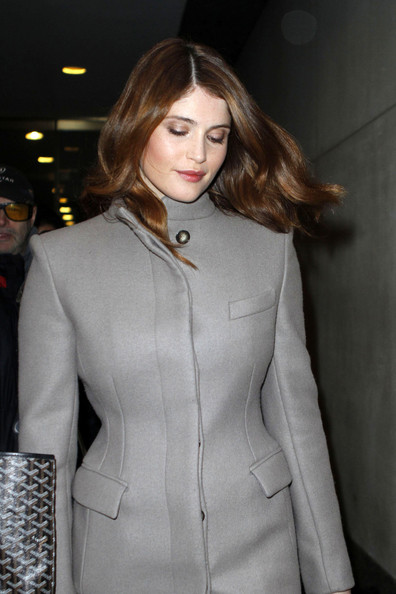 More Pics of Gemma Arterton Wool Coat (1 of 7) - Wool Coat Lookbook - StyleBistro