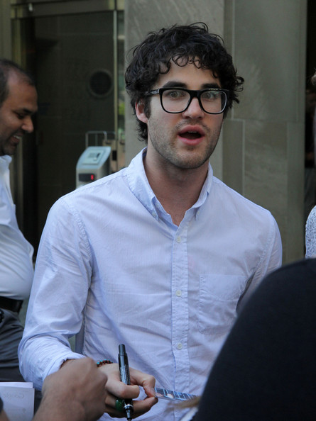 More Pics of Darren Criss Button Down Shirt (1 of 25) - Button Down Shirt Lookbook - StyleBistro