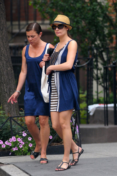 More Pics of Lea Michele Flat Sandals (1 of 10) - Lea Michele Lookbook - StyleBistro
